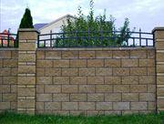Строительство забора из кирпича или блока под ключ